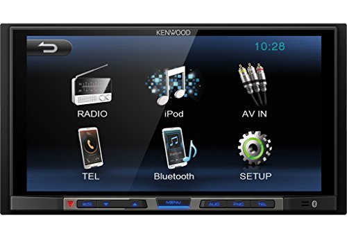 Kenwood DMX100BT - Receptor multimedia con Bluetooth incorporado, color...