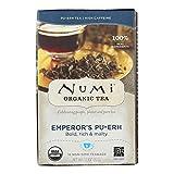 Numi Organic Tea Numi Organic Imperatori Puerh tè nero - 16 sacchi per...