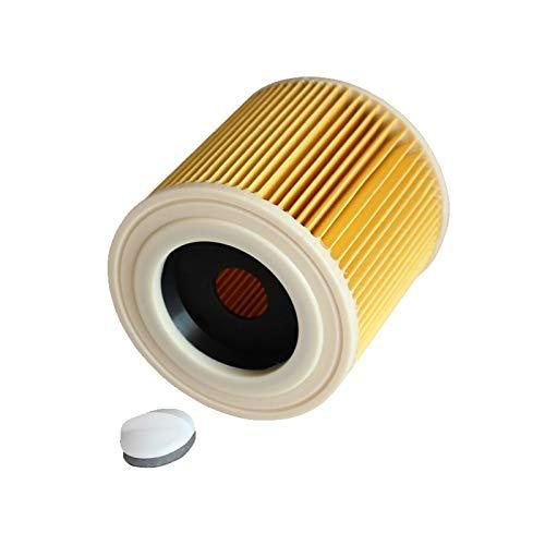 QUJJP Accesorios para aspiradoras Bolsa de Filtro de Polvo de Repuesto Compatible con KARCHER WD3.200 WD3300 MV3 Accesorios de Repuesto para aspiradores de vacío Filtros HEPA Bolsas de Polvo Filtros