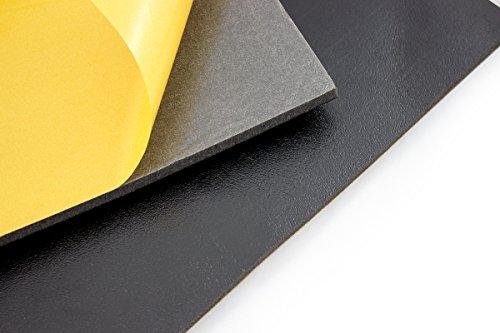 Preisvergleich Produktbild DSM Schaumstoffmatte 1.000 x 500 x 11mm (10 Stück) DSM-Matte Schaumstoff Dämmschaummatten Schallisolierung Anti-Dröhn-Matte Alubutyl Schallabsorber Dämmung Anti-Dröhn Schallakustik Noppenschaum Akustikschaum Schallschutz Akustikschaumstoff Wärmepumpe Hausbau Keller Dachgeschoß Flur Heizungsraum Heizungskeller Bauakustik Decken Raumakustik Schallschutzschaummatte dämmen
