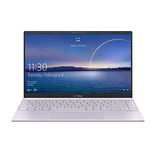 "ASUS Zenbook 14 UX425EA-BM018T, Notebook in alluminio, Monitor 14"" FHD Anti-Glare, Intel Core 11ma generazione i5-1135G7, RAM 8GB, 512GB SSD PCIE, grafica Intel Iris Xe, Windows 10 Home, Lilac Mist"