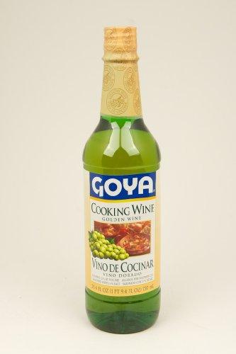 Goya Golden Cooking Wine, 25.4 Ounce Bottle