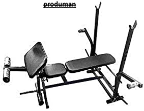 Produman 7 in 1 Bench with Removable Preacher curl