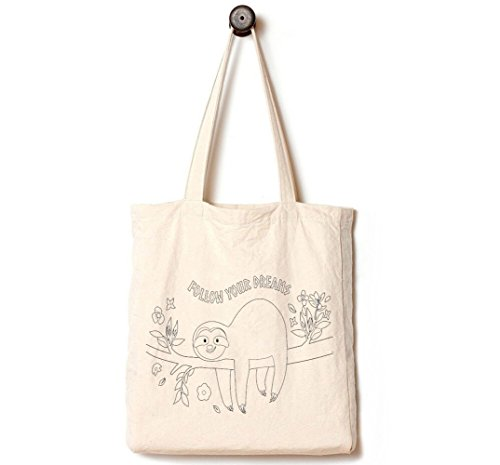 [Upgraded] Andes Heavy Duty Gusseted Canvas Tote Bag, Handmade from 12-ounce 100% Natural Cotton,...