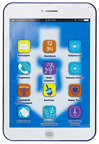 Rite Lite Tablet, Includes 5 Chanukah Songs, 4 Kids Classics, Numbers, Ringtones, etc. Hanukkah Toy