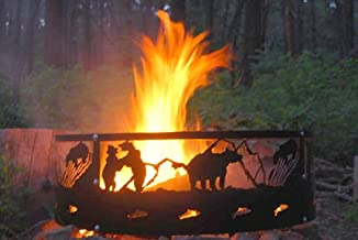 product image for Colorado Cylinder Stoves Campfire Ring - Bear (Made in The USA)