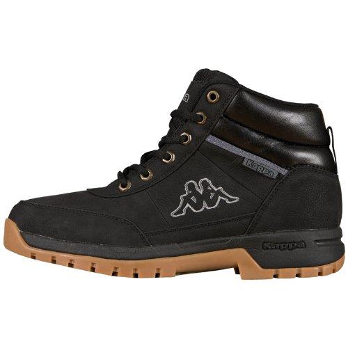Kappa BRIGHT MID Footwear unisex, Unisex-Erwachsene Hohe Sneakers, Schwarz (1111 black), 41 EU 7.5 UK