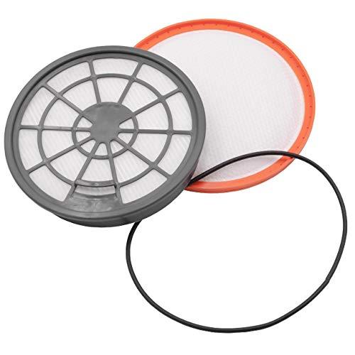vhbw Filter Set passend für Dirt Devil DD2620-9, DD2650-0, DD2650-1, DD2651-0, DD2651-1 Staubsauger (Ausblasfilter + Motorschutzfilter) Zubehör