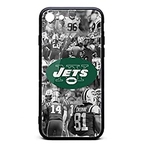 Compatible iPhone 6/6S Plus Case Shock-Absorbing Anti-Scratch New-York-Jets-Player-Black- Slim TPU Protective Premium Hard Case for iPhone 6/6S Plus 5.5 Inch