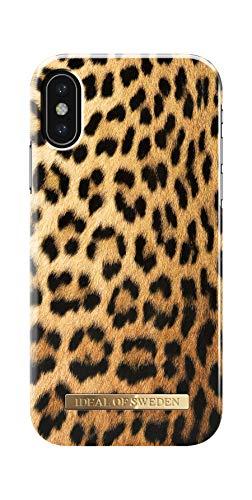 IDEAL OF SWEDEN Handyhülle für iPhone XS und X (Wild Leopard)