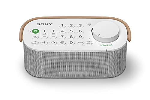 Sony SRSLSR200.CE7 - Altavoz de Mano para TV, Color Blanco