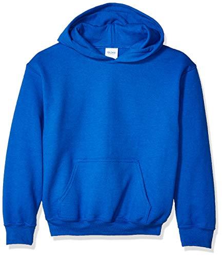 Gildan unisex child Youth Hooded Sweatshirt, Royal, Medium US