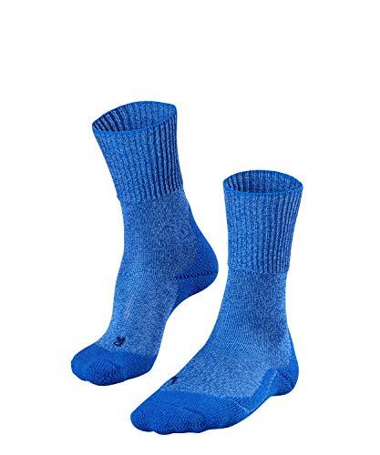 FALKE Damen, Wandersocken TK1 Wool Merinowollmischung, 1 er Pack, Blau (Blue Note 6545), Größe: 39-40