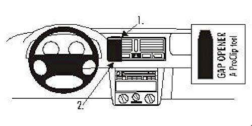 Brodit 852526 ProClip Halterung, schwarz