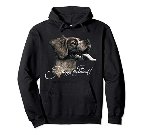 Epagneul Breton Brittany Pullover Hoodie