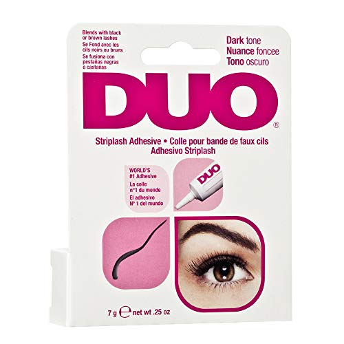 DUO Strip EyeLash Adhesive for Strip Lashes, Dark Tone, 0.25 oz
