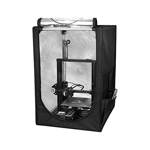 Caja de impresora 3D a prueba de fuego y polvo Creality Mini carpa de impresora 3D para Ender 3 / Ender 3 pro / Ender 5, Sala de cubierta protectora de temperatura constante