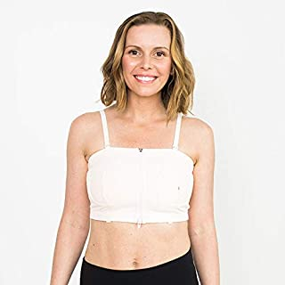Simple Wishes Signature Hands Free Pumping Bra, Patented, Pink, X-Small - Large