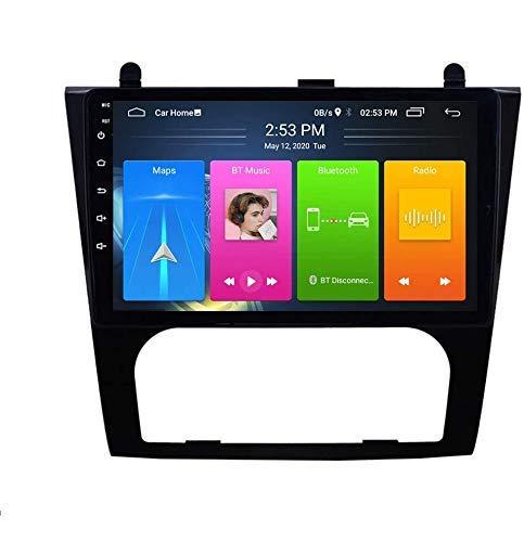Android 9.0 Radio estéreo para automóvil compatible con Nissan Altima Auto 2008-2012 Navegación GPS Unidad principal de pantalla táctil HD de 9 pulgadas Reproductor multimedia MP5 Video con 4G WiFi D