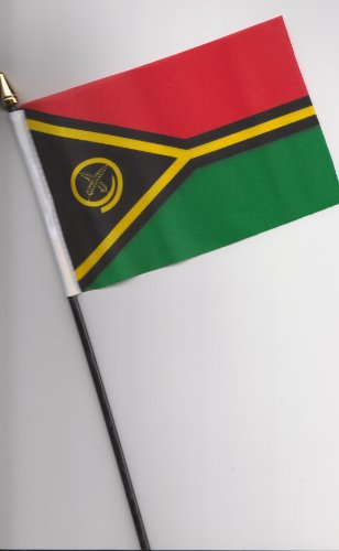 Vanuatu-Flagge, 25 cm