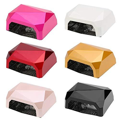 Ccflled - Tiempo de soldadura, lámpara UV Ccfl LED, reconstrucción de uñas, temporizador de diamante para uñas, 36 W – 595 g