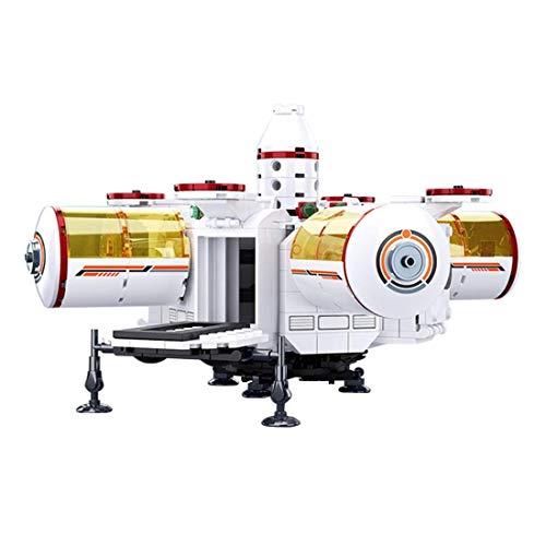 642pcs Base de Espacio de Bases de Espacio Modelo, Espacial Cohete Compatible con el Espacio Lego