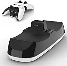 $30 » LVGOD DC 5V 1.5A USB C Dual Gamepad Charger Station Gaming Controller Joystick Power Adapter Dock for PS5 Playstation 5 Co...