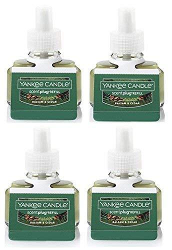 Yankee Candle Bundle Balsam & Cedar ScentPlug Refill 4-Pack