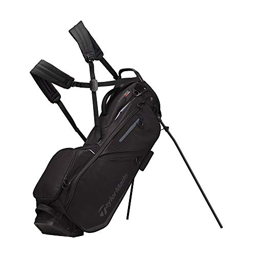 TaylorMade 2019 Flextech Stand Golf Bag, Black V1