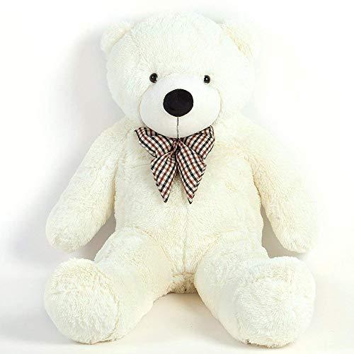 QIANGUANG Gigante Orso di Peluche Enorme Morbido Orsacchiotto Gigante Cuscino Regalo Teddy Bear (Bianca)