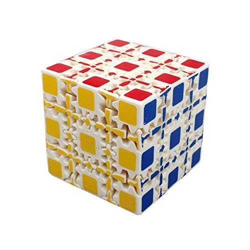 MUYAO Cubo de Rubik - de 5º Orden Engranaje Rubik Cubo Blanco (Color : White)
