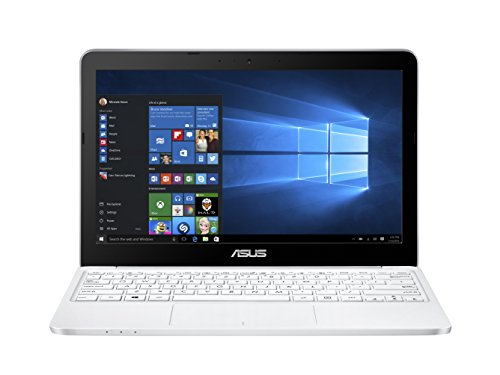 Asus E200HA-FD0041TS 29,4 cm (11,6 Zoll) Laptop (Intel Atom X5-Z8350, 2GB RAM, 32GB eMMC, Intel HD-Grafik, Win 10 Home) weiß