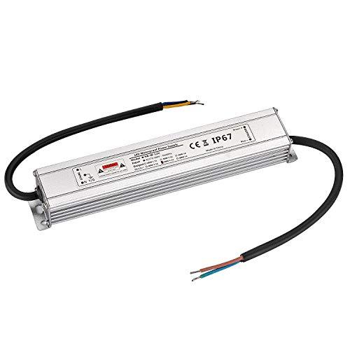 LED Trafo 12V 50W 4,16A IP67,geeignet für LED Stripes und Leuchtmittel,Upgrade Transformator Netzteil Driver 230V auf DC12V Wasserdicht