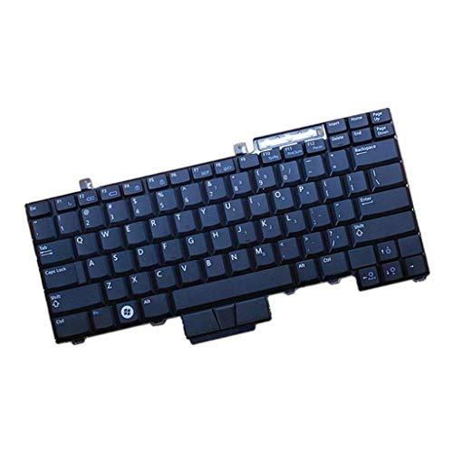SDENSHI Teclado del Ordenador Portátil para DELL Latitude E6400 E6410 E6500 E6510 Pieza De Repuesto