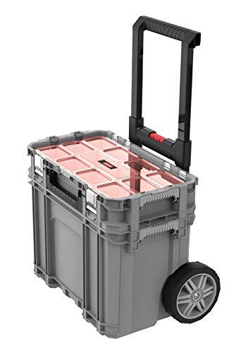 Koffer met wielen en organizer