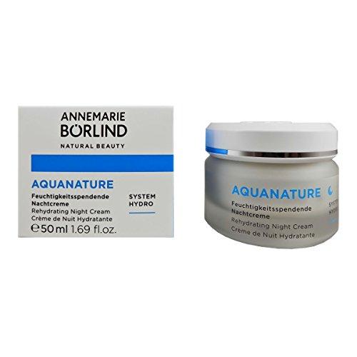 Annemarie Börlind Aquanature Feuchtigkeitsspendende Nachtcreme, 1er Pack (1 x 50 ml)