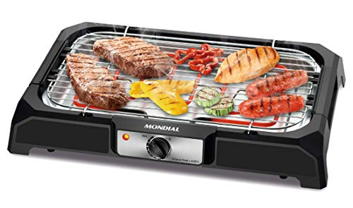 Mondial CH-05 Churrasqueira Elétrica Grand Steak and Grill, Preto