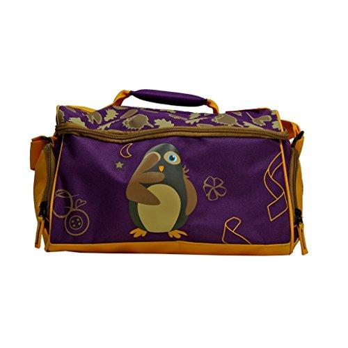 Travelite Youngster Reisetasche 14 L Lila Kauz Kinder Sporttasche Bordgepäck Bord Tasche Reise Handgepäck 81665-17