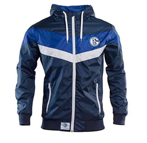 Schalke 04 Windbreaker Wind-Jacke (M)
