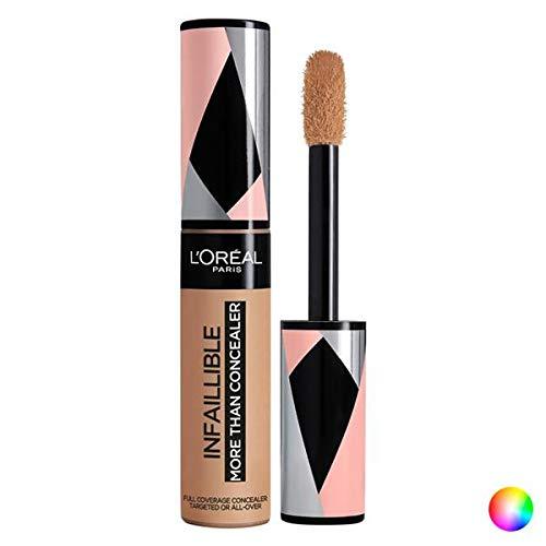 L'Oréal Paris Infaillible More Than Concealer, Correttore Liquido, Effetto Naturale, Colore: Biscuit (328), 11 ml