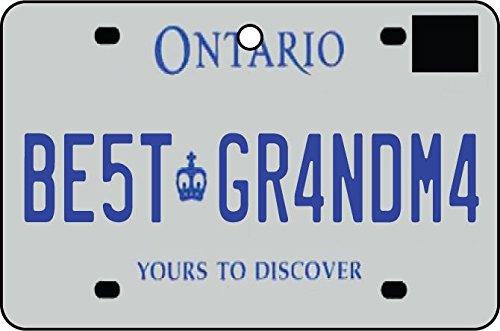 Ali Air Freshener Ontario - Best Grandma Nummernschild Auto Lufterfrischer