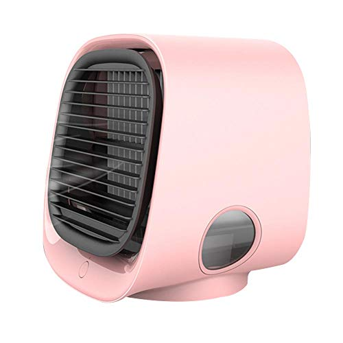 Anyutai Mini Ventilador de Aire Aire Humidificado Ventilador USB Flor de Cerezo Rosa