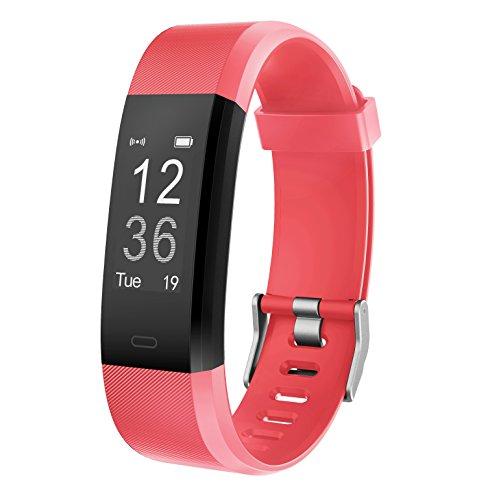 Muzili Monitor de Fitness YG3 Plus Pulsera Actividad Reloj Medidor Deportivo Inteligente Podómetro con Monitor de Ritmo cardíaco/GPS/Contador de Pasos/Control del sueño para Android e iOS
