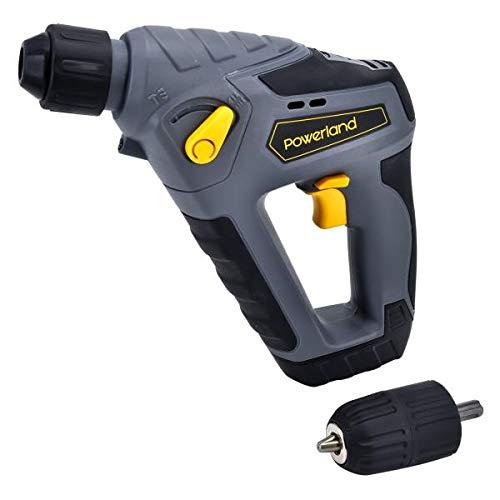 Powerland HD02 14,4 Volt Akku Bohrhammer inkl Schnelladegerät
