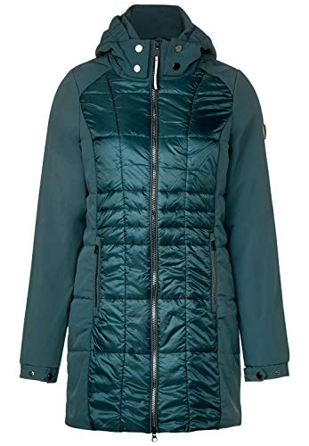 Cecil Damen Softshell Mix Mantel deep Atlantic Green L