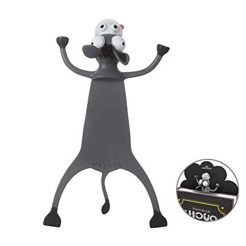 Witzige 3D Cartoon Tier-Lesezeichen - Lustiges Geschenk für Kinder und Erwachsene (M)