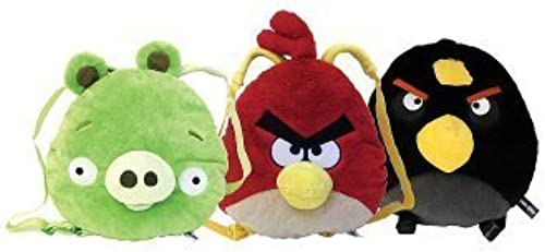 Angry Birds Dimensional Backpack - schwarz Bird by Angry Birds