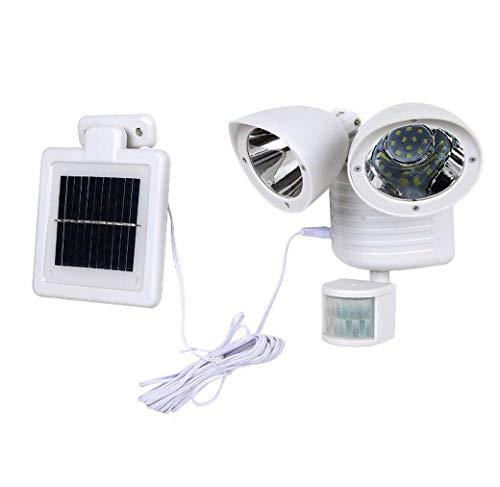 YdSolar Lamp 2 Hoofd Sensor Waterdichte 22LED Tuin Buiten Patio Binnenplaats Zonne-LED Lichten Voor Tuin Decoratie