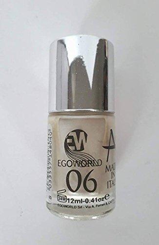 egoworld esmalte Angel Nails N 06blanco perlado