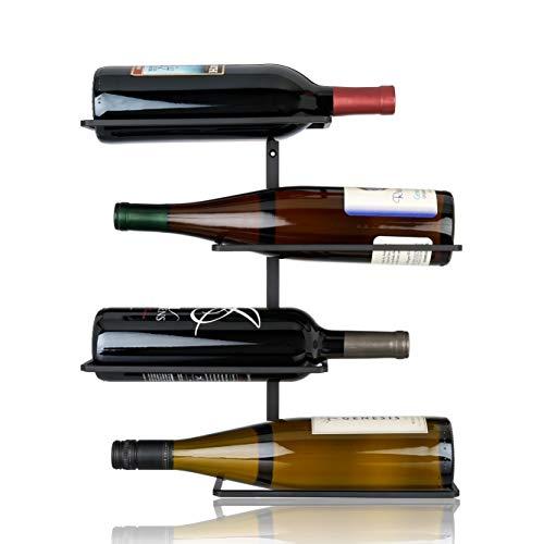 True 7688 4 Bottle Wine Holder One in 4 - Wall Mounted Wine Racks